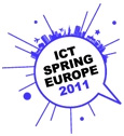 Logo of the ICT Spring Europe 2011